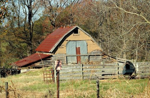 old rustic shed barn shed grunge