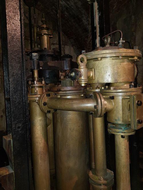 old saline water pump