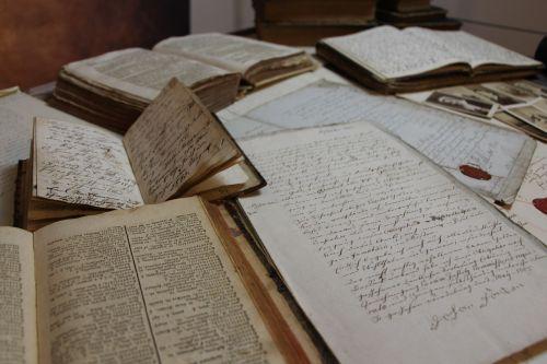 old script paper book