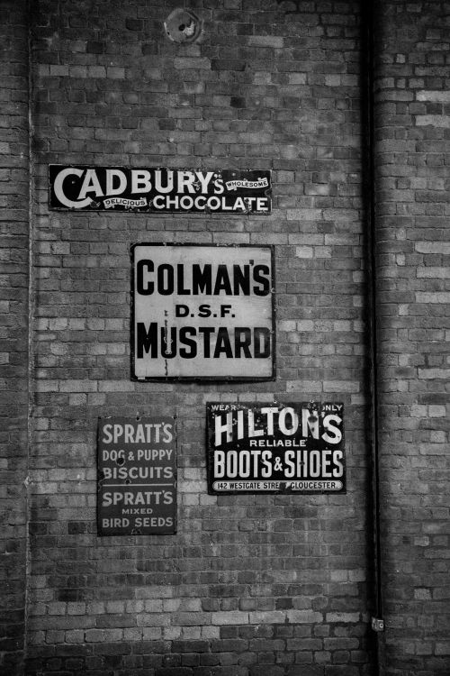 Old Signs On The Wall
