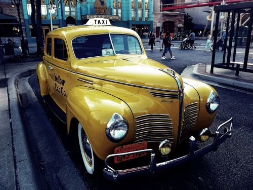 Old Taxi Cab