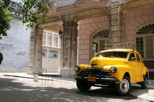 old timer auto cuba
