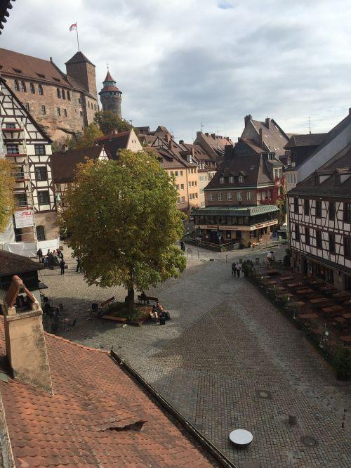 old town nuremberg fachwerkhaus