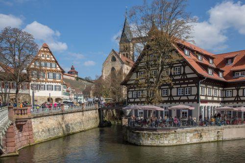 old town truss esslingen
