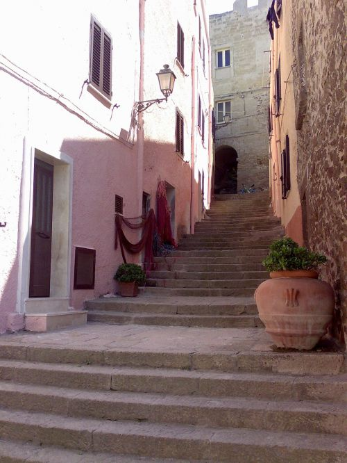 old town stairs holiday