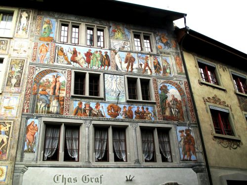 old town mural row