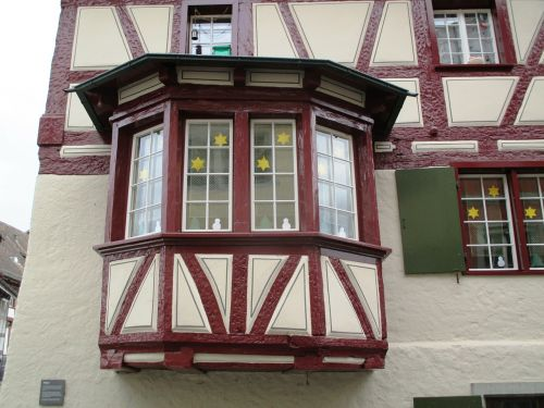 old town fassde bay window