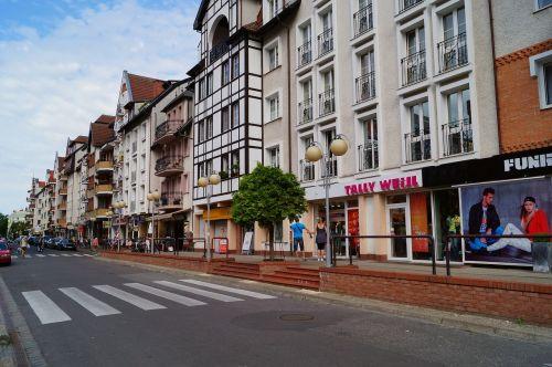 old town kolobrzeg kołobrzeg