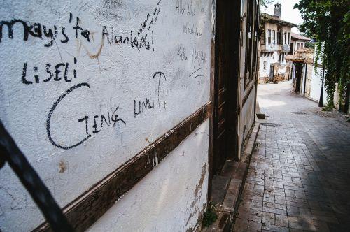 old town street antalya
