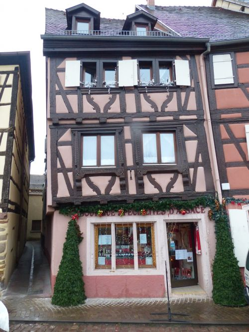 old town colmar truss
