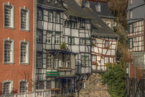 old town germany monschau