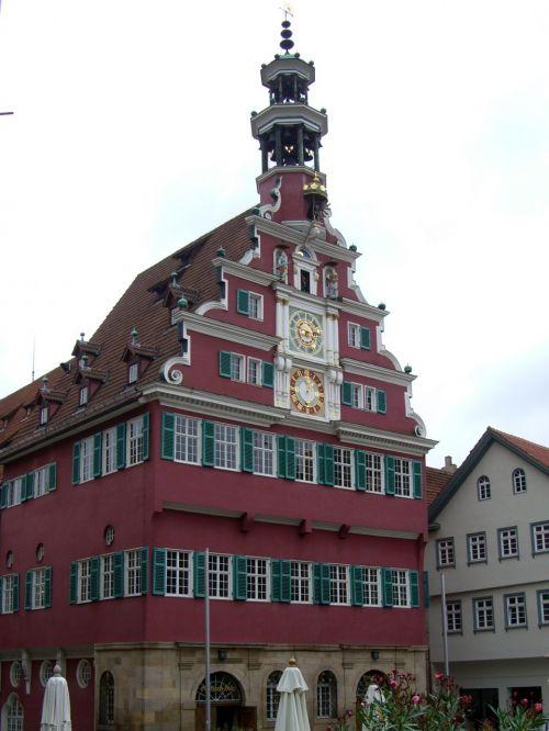 old town hall esslingen tower