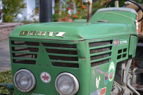 old tractor deutz vintage