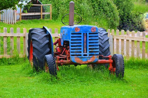old tractor  tractor  agriculture