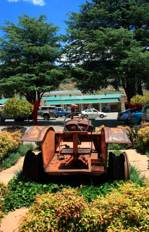 Old Tractor In Clarens