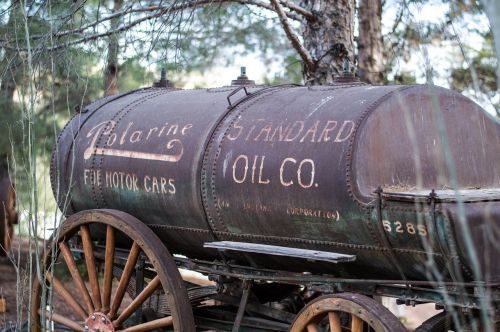 old trailers oil tank trailers