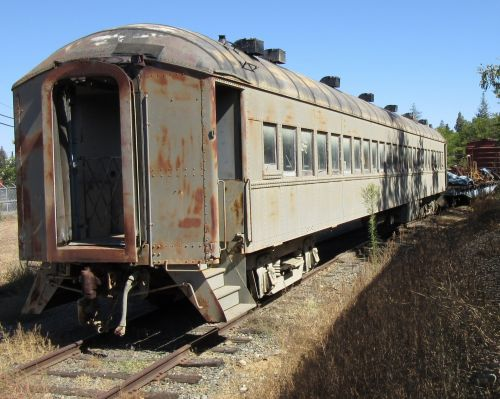 Old Train, Folsom, California