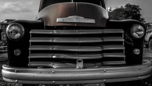 old truck automobile antique