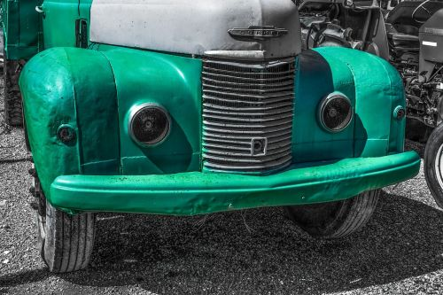 old truck car vehicle