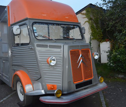 old vehicle truck citroen collection