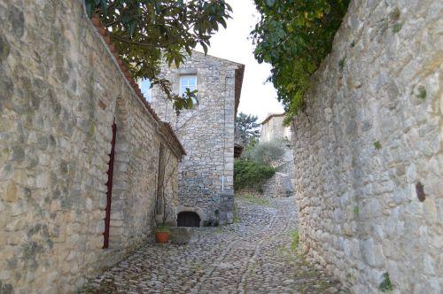 old village france street