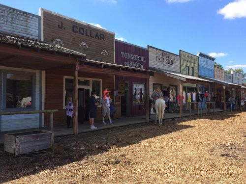 old west old town western