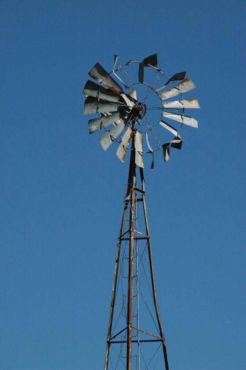 old windmill windmill sky