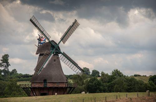 old windmill windmill old