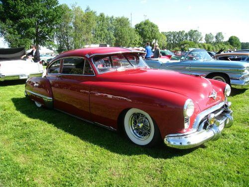 oldsmobile red grass
