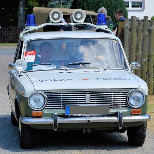 oldtimer historically police vehicle