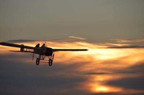 oldtimer blériot aircraft