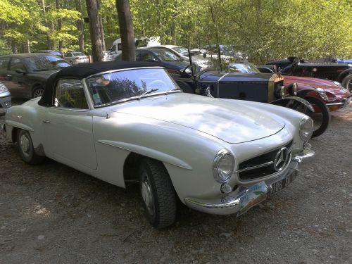 oldtimer auto sports car