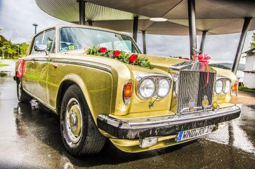 oldtimer wedding marry