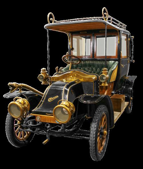 oldtimer luxury car historically
