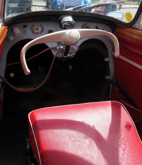 oldtimer messerschmitt cabin scooter