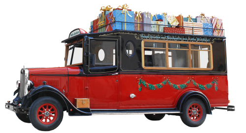 oldtimer bus christmas download