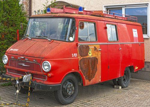 oldtimer firefighter oldtimer opel