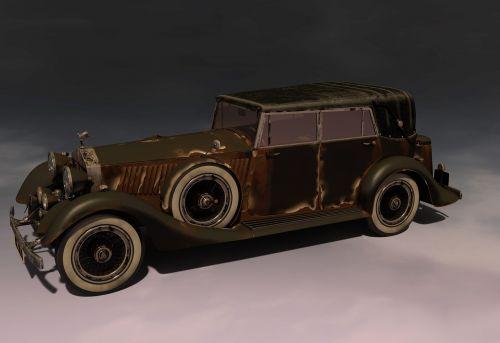 oldtimer auto pkw
