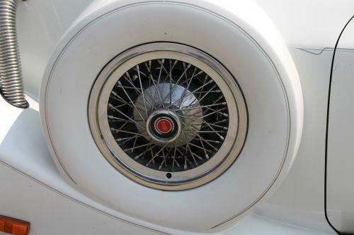 oldtimer car parts white luxury