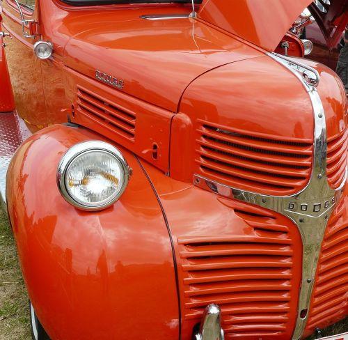 oldtimer dodge auto
