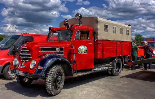 oldtimer fire hdr