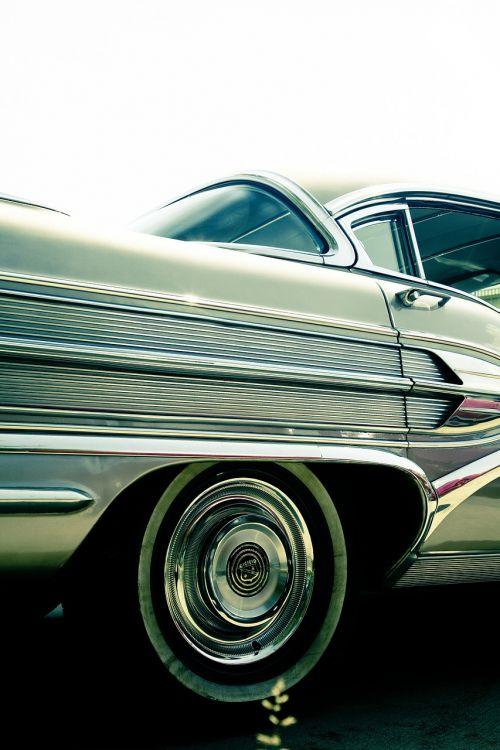 oldtimer chrome automotive