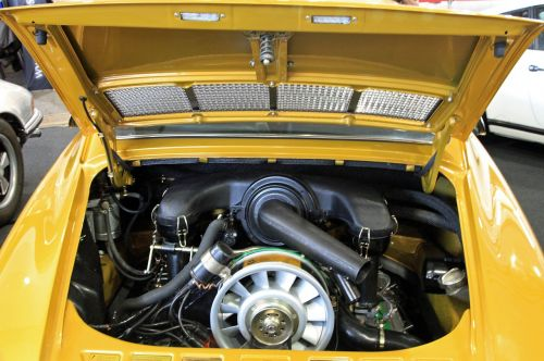 oldtimer motor porsche