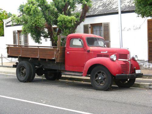 oldtimer truck old car
