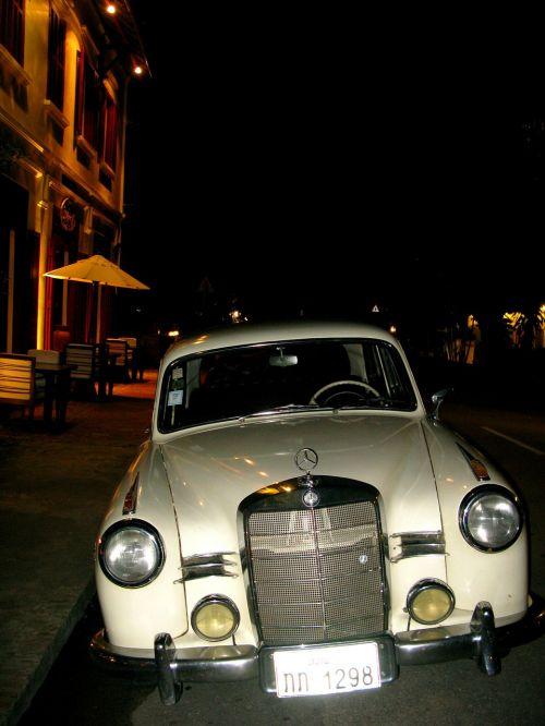 oldtimer auto mercedes