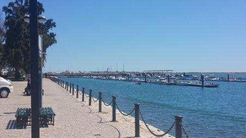 olhao promenade portugal