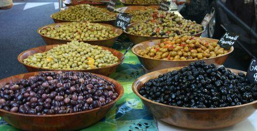 olive market mediterranean