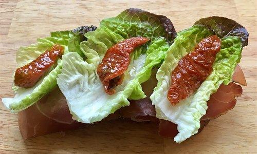 olive oil  lettuce  red gem lettuce