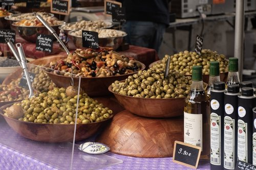 olives  olive oil  market day