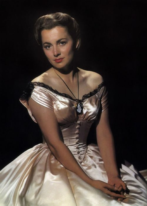 olivia de havilland actress vintage